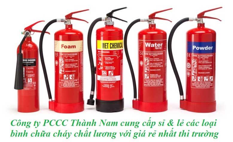 PCCC Thành Nam cung cấp bình chữa cháy