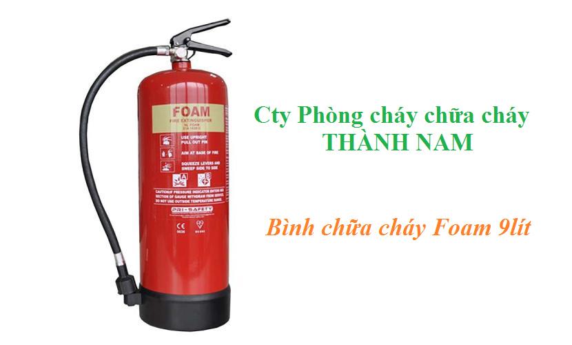 Bình chữa cháy cầm tay dạng bọt FOAM 9 Lít