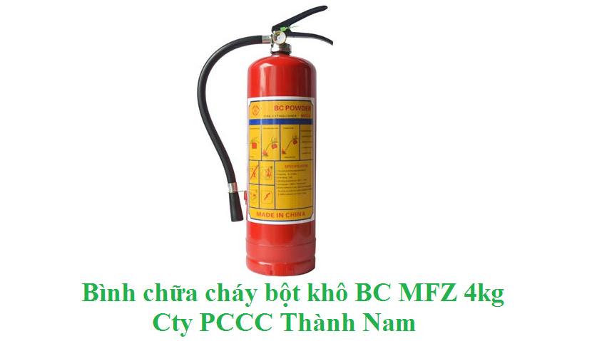 Bình Chữa Cháy Bột BC MFZ4