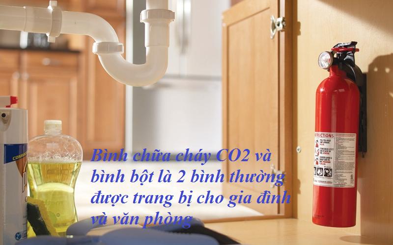 bình chữa cháy cho gia đình & văn phòng