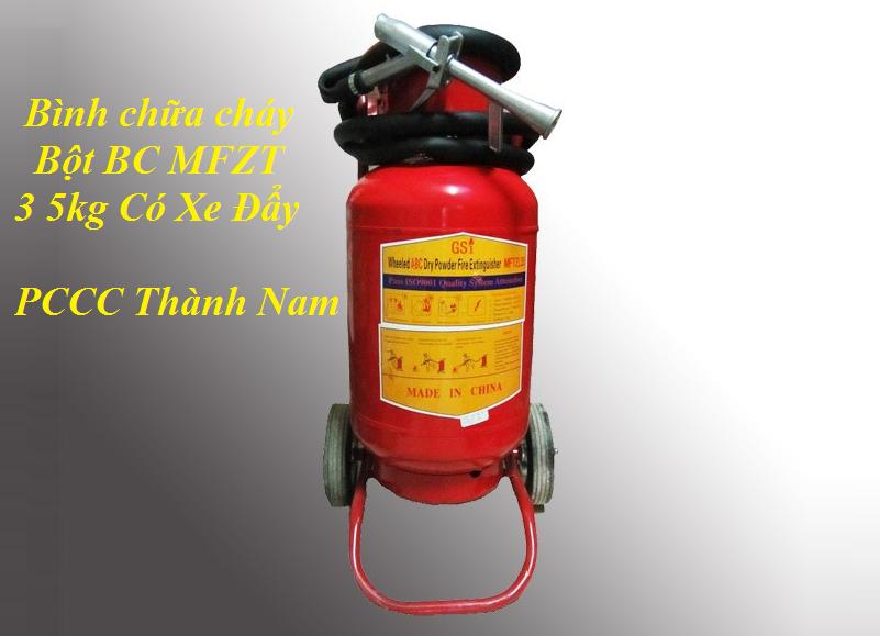bình chữa cháy bột BC MFZT35