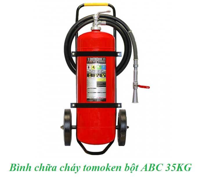 bình chữa cháy tomoken bột ABC 35KG