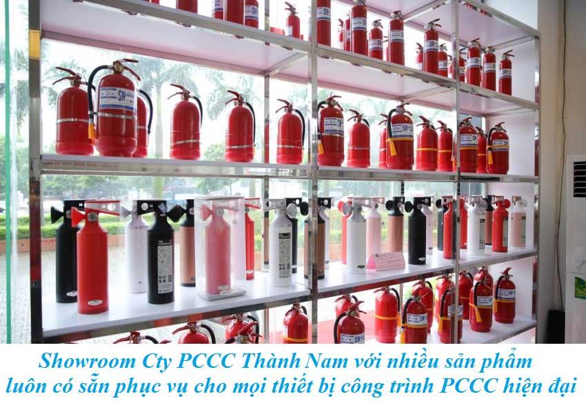 Showroom Cty PCCC Thành Lâm với nhiều sản phẩm  luôn có sẵn phục vụ cho mọi thiết bị công trình PCCC hiện đại