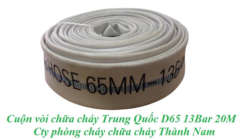 Cuộn vòi chữa cháy Trung Quốc D65 13Bar 20M