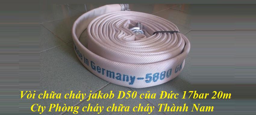 Vòi chữa cháy jakob D50 của Đức 17bar 20m