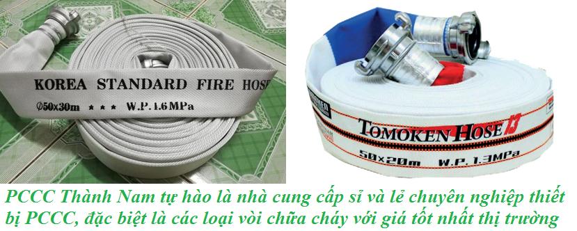 vòi cứu hỏa là thiết bị chữa cháy quan trọng và phổ biến nhất
